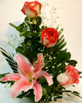 send gifts to bangladesh, send gift to bangladesh, banlgadeshi gifts, bangladeshi Thailand Lily & China Rose
