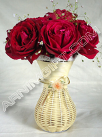 send gifts to bangladesh, send gift to bangladesh, banlgadeshi gifts, bangladeshi Red Rose With Vase
