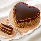 send gifts to bangladesh, send gift to bangladesh, banlgadeshi gifts, bangladeshi Black Forest Heart
