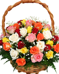send gifts to bangladesh, send gift to bangladesh, banlgadeshi gifts, bangladeshi 50 Mixed Roses