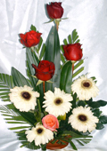 send gifts to bangladesh, send gift to bangladesh, banlgadeshi gifts, bangladeshi Thai Rose & Gerbera