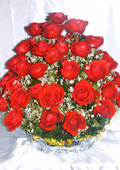 send gifts to bangladesh, send gift to bangladesh, banlgadeshi gifts, bangladeshi 50 Red  Rose