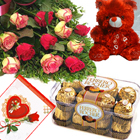 send gifts to bangladesh, send gift to bangladesh, banlgadeshi gifts, bangladeshi Valentines Combo