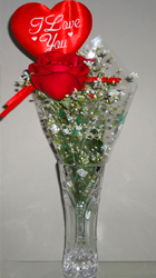 send gifts to bangladesh, send gift to bangladesh, banlgadeshi gifts, bangladeshi 1 Rose  1 Love