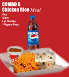 send gifts to bangladesh, send gift to bangladesh, banlgadeshi gifts, bangladeshi KFC - Chicken Rice Meal