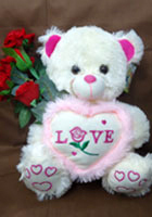 send gifts to bangladesh, send gift to bangladesh, banlgadeshi gifts, bangladeshi 100 % Love Teddy