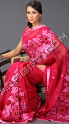 send gifts to bangladesh, send gift to bangladesh, banlgadeshi gifts, bangladeshi Miraculous Moslin Saree