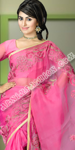 send gifts to bangladesh, send gift to bangladesh, banlgadeshi gifts, bangladeshi Pink Saree