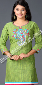 send gifts to bangladesh, send gift to bangladesh, banlgadeshi gifts, bangladeshi Tat Cotton Short Kameez
