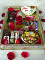 send gifts to bangladesh, send gift to bangladesh, banlgadeshi gifts, bangladeshi Exclusive Decorated Chocolate Basket