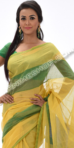 send gifts to bangladesh, send gift to bangladesh, banlgadeshi gifts, bangladeshi Yellow & Green Cotton