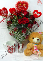 send gifts to bangladesh, send gift to bangladesh, banlgadeshi gifts, bangladeshi Rose,Teddy & Love Stick