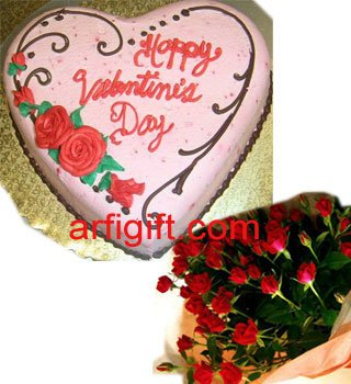Send Rose & Cake Combo to Bangladesh, Bangladesh Newspaper, Bangladeshi gift, send gifts to bangladesh, send gift to bangladesh