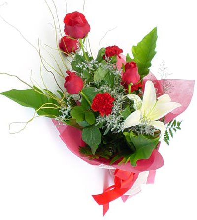 Send Lily+Carnation+Rose to Bangladesh, Send gifts to Bangladesh
