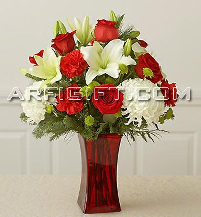 Send Thailand Rose + Lily + Carnation to Bangladesh, Bangladesh Newspaper, Bangladeshi gift, send gifts to bangladesh, send gift to bangladesh