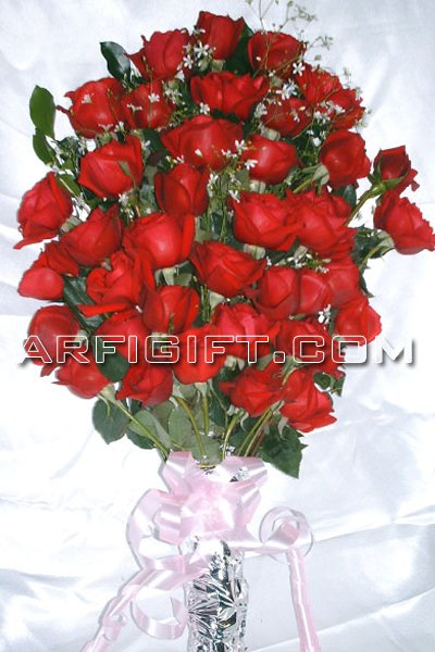 Send 36 pcs Red Rose  to Bangladesh, Send gifts to Bangladesh