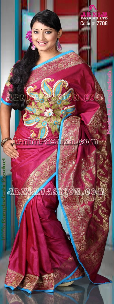 Send Exclusive Silk Sari to Bangladesh, Bangladesh Newspaper, Bangladeshi gift, send gifts to bangladesh, send gift to bangladesh