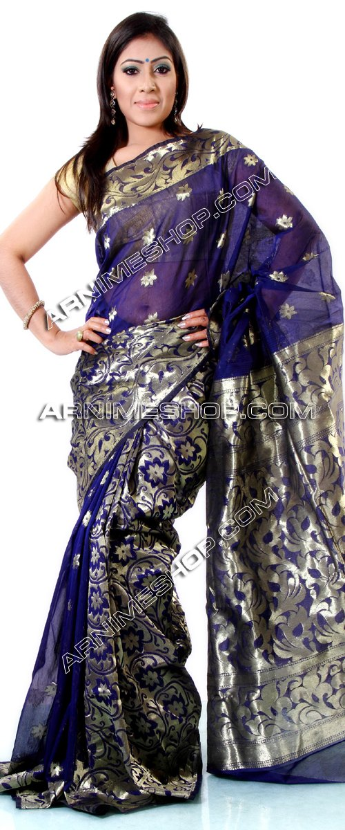 Send Half Silk Saree to Bangladesh, Send gifts to Bangladesh